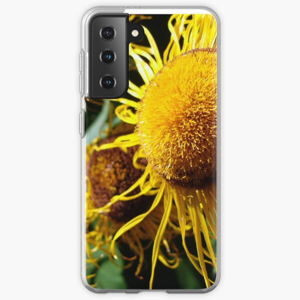Sunflowers in Bloom - Shee Nature Photography Samsung Galaxy Soft Case