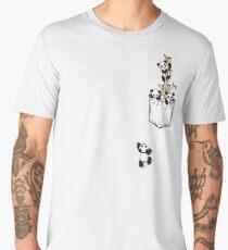 POCKET PANDAS Men's Premium T-Shirt
