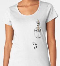 POCKET PANDAS Women's Premium T-Shirt