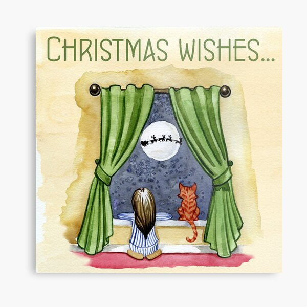 christmas wishes Metal Print