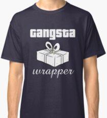 Gangsta Wrapper Funny Christmas Design Classic T-Shirt