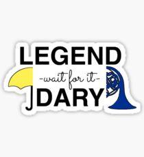 Legendary  Sticker
