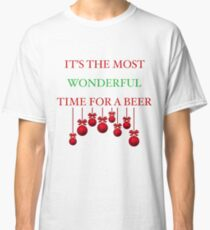 Wonderful Time of the Year Christmas Classic T-Shirt