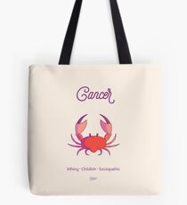 Cancers are the worst Tote Bag