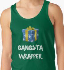 Gangsta Christmas Funny  Men's Tank Top