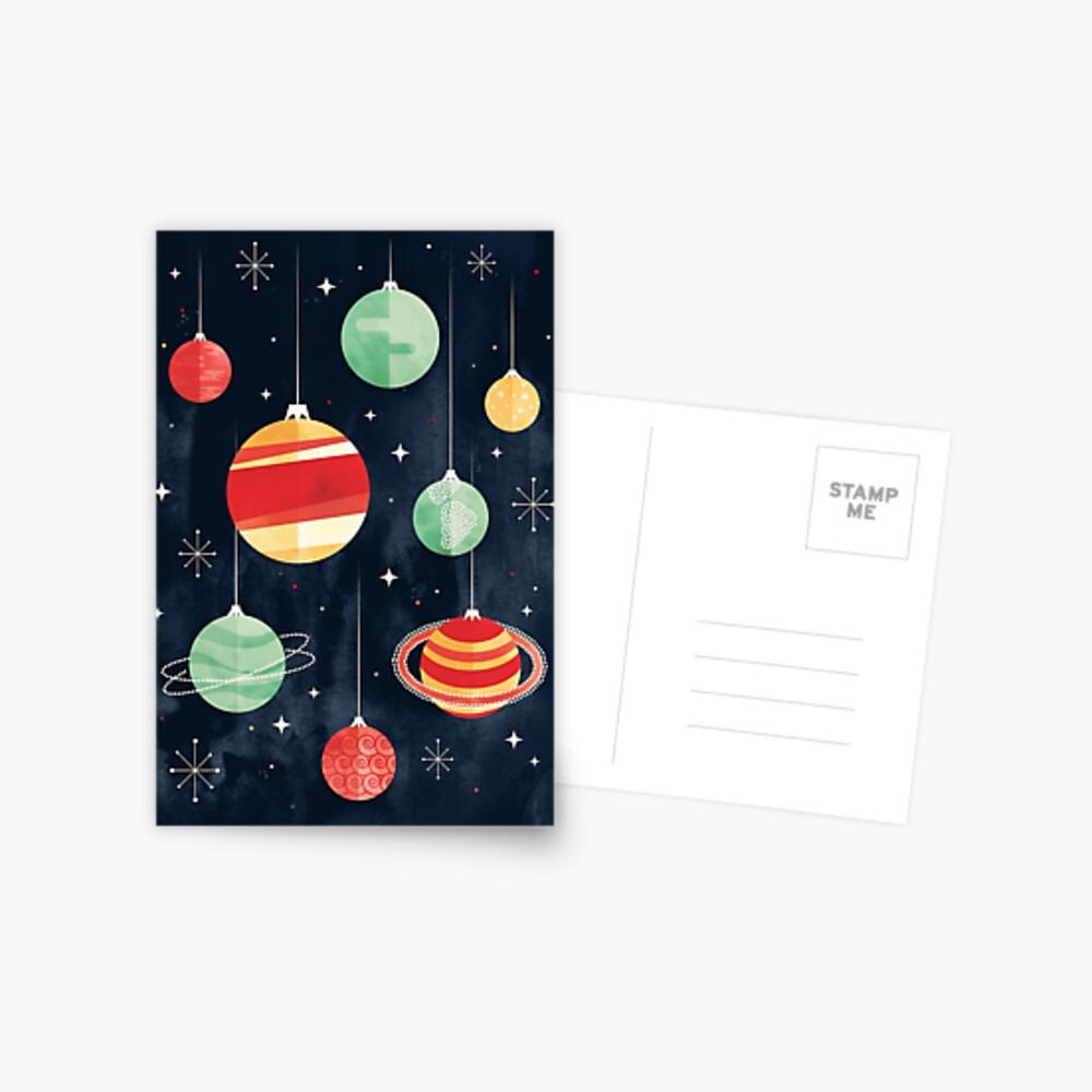 Joy to the Universe Postcard
