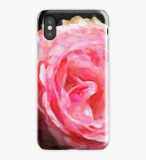 Abstract Pink Rose iPhone Case/Skin