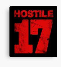 Hostile 17 Canvas Print