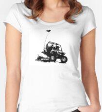 RZR utv side by side Women's Fitted Scoop T-Shirt