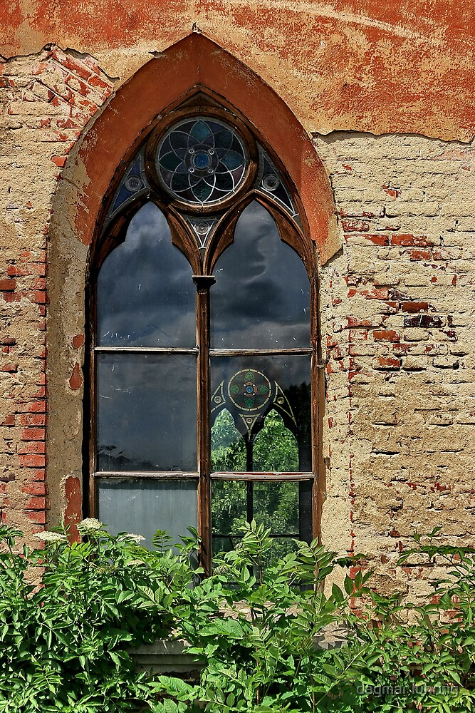 church window by danapace