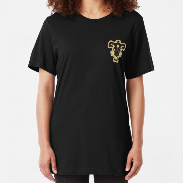Black Clover Black Bulls Slim Fit T-Shirt