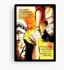 One Piece - The Best Alliance Canvas Print