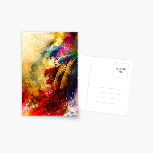 Golden Gloom Postcard
