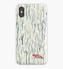 Winter Wood iPhone Case