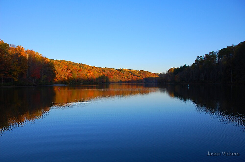 Fall on the Lake by Jason Vickers