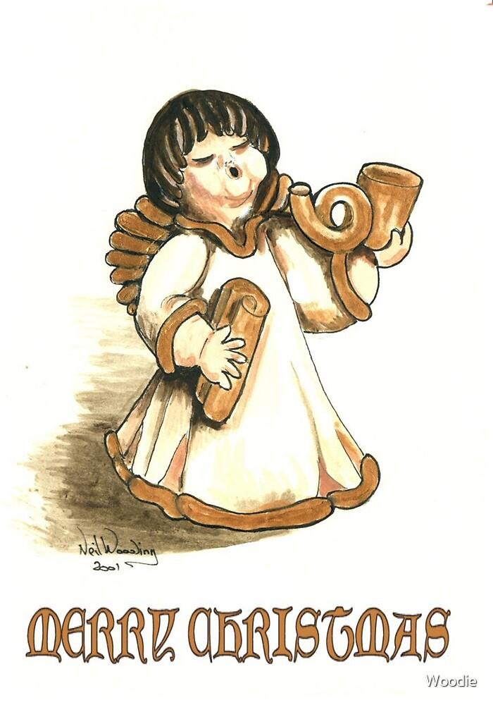 Merry Xmas Angel   by Woodie