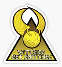 Witches Get Snitches Sticker
