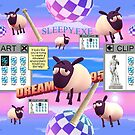 Sleepy The Sheep by cryoclaire