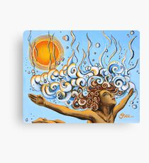 Balance of Life (cut) - Yoga Art from Shee - Surreal Worlds Canvas Print