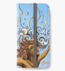 Balance of Life (cut) - Yoga Art from Shee - Surreal Worlds iPhone Wallet/Case/Skin