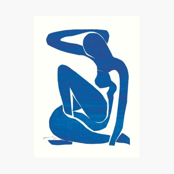 HENRI MATISSE BLUE NUDE  Art Print