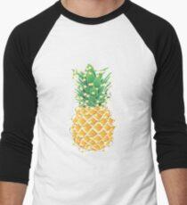 Christmas Pineapple Tree Men's Baseball ¾ T-Shirt