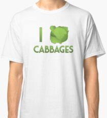 I Heart Cabbages Classic T-Shirt