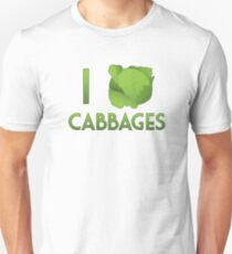 I Heart Cabbages T-Shirt