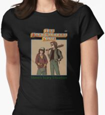The Babysitters Club - Steve's Scary Situation Women's Fitted T-Shirt