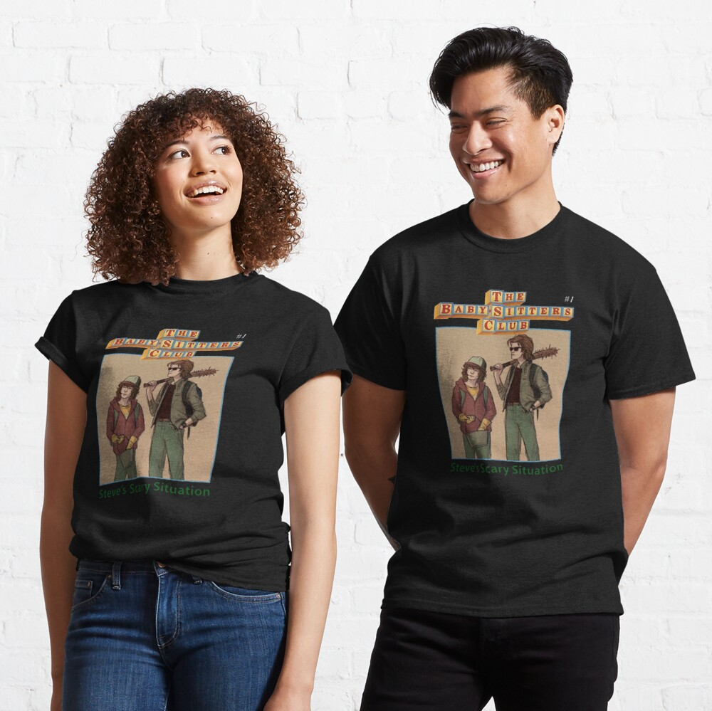 The Babysitters Club - Steve's Scary Situation Classic T-Shirt