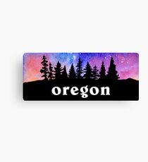 Cosmic Oregon Canvas Print