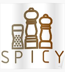 spicy spices Poster