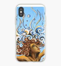 Balance of Life (cut) - Yoga Art from Shee - Surreal Worlds iPhone Case