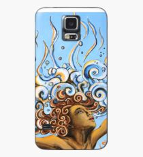 Balance of Life (cut) - Yoga Art from Shee - Surreal Worlds Case/Skin for Samsung Galaxy