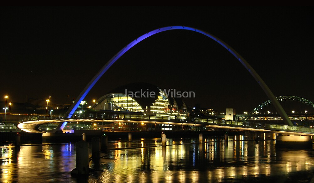Tyne Reflections by Jackie Wilson