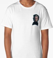 Sherlock and John silhouette - Sherlock BBC Long T-Shirt