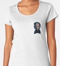 Sherlock and John silhouette - Sherlock BBC Women's Premium T-Shirt