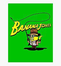BANANA JONES AND THE GOLDEN BANANA Photographic Print