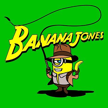 BANANA JONES AND THE GOLDEN BANANA by karmadesigner