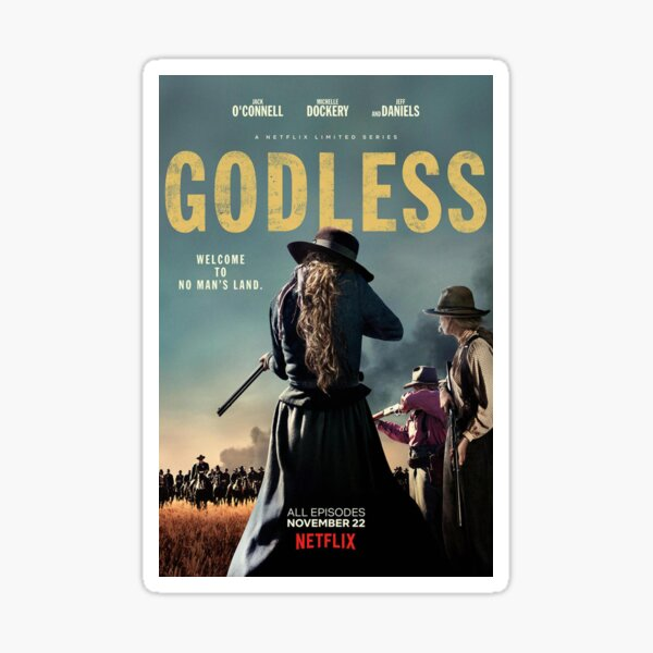 Godless 2017 Sticker