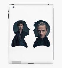 John and Sherlock silhouette - Sherlock BBC iPad Case/Skin