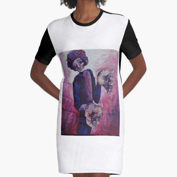 Help Me Graphic T-Shirt Dress