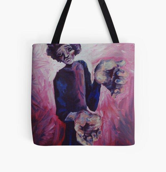 Help Me All Over Print Tote Bag