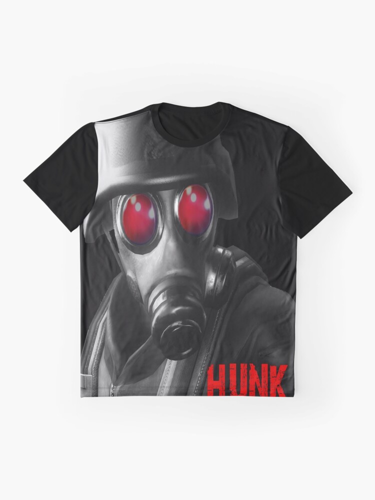 Back To Search Resultsmen's Clothing Resident Evil Gas Mask Mens Black T Shirt