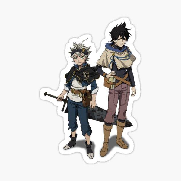 Black Clover Yuno Asta Anime Design Sticker