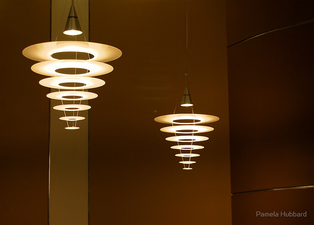 Futuristic Lighting by Pamela Hubbard