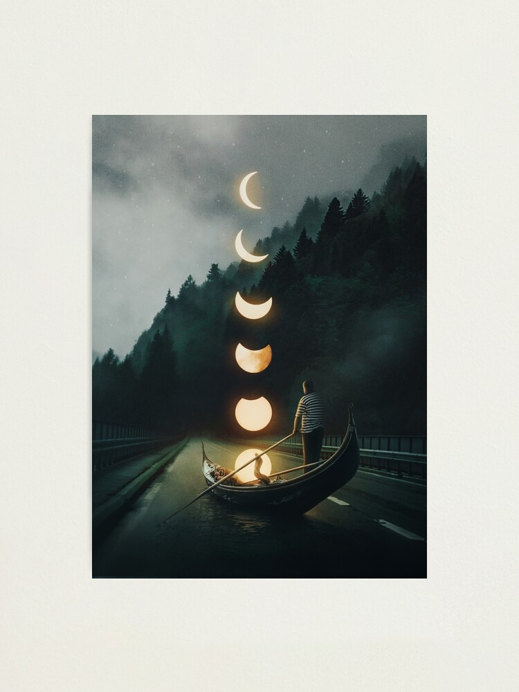 Alternate view of Moon Ride Photographic Print