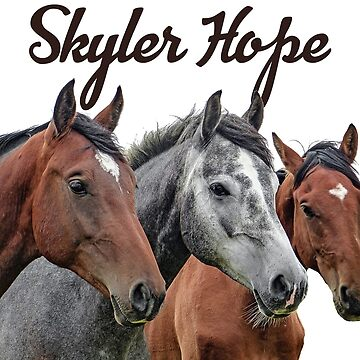 Skyler Hope Horses by monarchgraphics