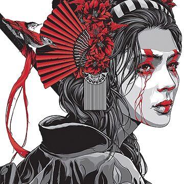 Female Samurai by AlexFilipe