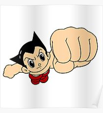 flying astroboy Poster